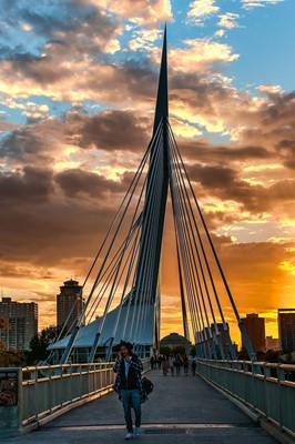 Esplanade Riel Footbridge